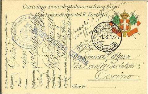 Corrispondenza dal fronte della prima guerra mondiale asut for Unito lettere
